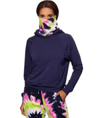 bam by betsy & adam hoodie with removable mask, created for macy's