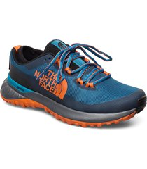 m ultra traction shoes sport shoes running shoes blå the north face