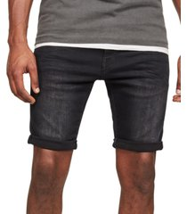 g-star raw men's 3301 slim-fit denim shorts, created for macy's