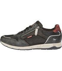 skor mustang antracitgrå