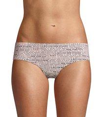 printed hipster panty