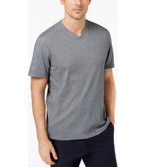 tasso elba men's supima blend v-neck short-sleeve t-shirt, created for macy's