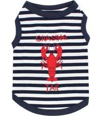 parisian pet lobster tee dog t-shirt