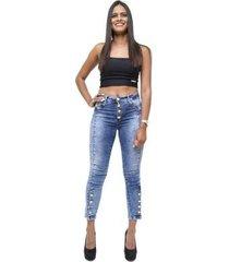 calça jeans cheris skinny miriene feminina