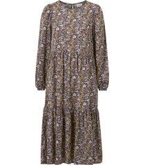 klänning vipals l/s midi dress