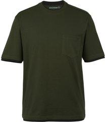 wolverine men's miter short sleeve tee olive, size m
