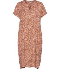 frvaleaf 4 dress jurk knielengte roze fransa