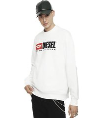 sweater s crew division sweat shirt blanco diesel