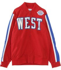 nba full zip hook shot asg 1988 all star west jacket