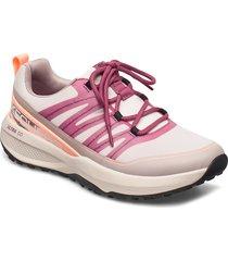 womens go trail jackrabbit lage sneakers roze skechers