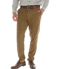 pantalon cord verde rockford