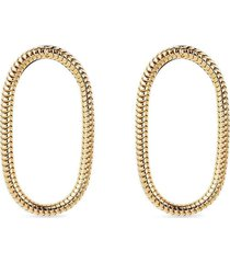 fernando jorge 18kt yellow gold chain short earrings
