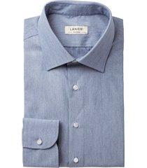 camicia da uomo su misura, ibieffe, effetto denim azzurra, quattro stagioni