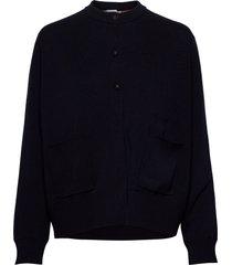 coco cardigan stickad tröja cardigan svart hope
