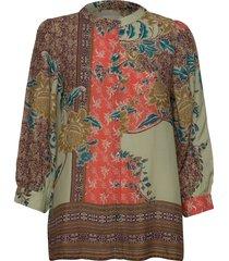 amalie shirt blouse lange mouwen multi/patroon lollys laundry