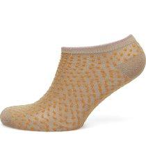 dollie dot footies träningssockor/ankle socks gul becksöndergaard