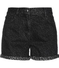 mcq alexander mcqueen denim shorts