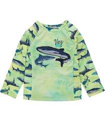 camiseta de playa verde offcorss