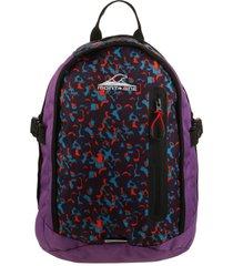 mochila violeta montagne rouge 18 l