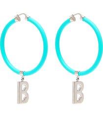 elastic band earrings
