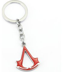 red 10/lot assassins creed charm key chain key ring chaveiro pendant souvenir