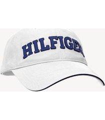 tommy hilfiger men's hilfiger baseball cap classic white -