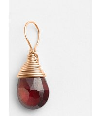 women's nashelle 14k-rose gold fill & semiprecious stone charm