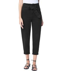 joe's jeans women's brinkley paperbag jeans - after hour - size 29 (6-8)