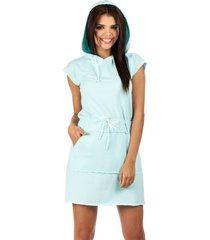 sukienka mini dresowa