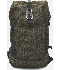 fendi ferrino backpack with all-over ff vertigo motif