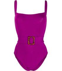 eres guilty tank swimsuit - purple