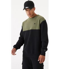 sweater new-era ne outdoor utility crew neck flce
