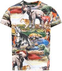 molo multicolor ralphie t-shirt for boy