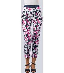 broek alba moda wolwit::pink::marine