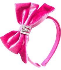 monnalisa fuchsia girl headband