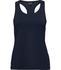 adv essence singlet w t-shirts & tops sleeveless blå craft