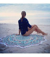 146cm-summer-round-beach-towels-floral-printed-blanket-mat-for-adults-women-serv