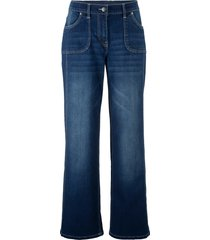 jeans elasticizzati con cinta comoda e gamba larga (nero) - bpc bonprix collection
