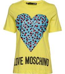 love moschino t-shirt t-shirts & tops short-sleeved gul love moschino