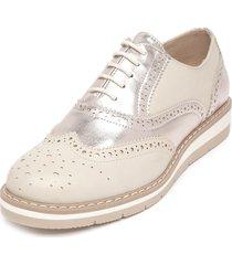 zapato oxford dorado fagus
