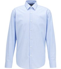 boss men's eliott pastel blue shirt