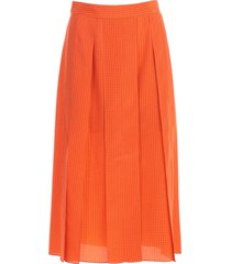 joseph skirt pleated micro fantasy