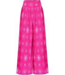 spodnie plisowane pink pussy
