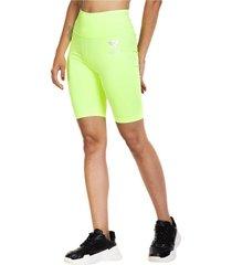 legging biker fluor verde fluor ngx