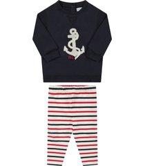 ralph lauren multicolor babygirl suit with anchor