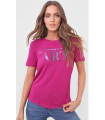 camiseta morena rosa be art. rosa - rosa - feminino - viscose - dafiti