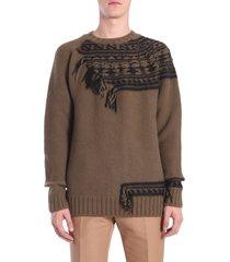 n.21 round collar sweater