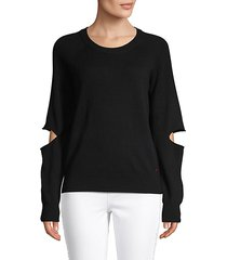 merino wool & cashmere-blend sweater