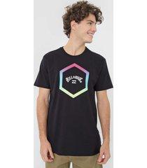 camiseta billabong access preta