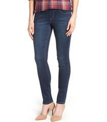 women's jag jeans nora stretch skinny jeans, size 6 - blue
